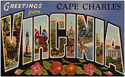 Postcard from Cape Charles, Virginia